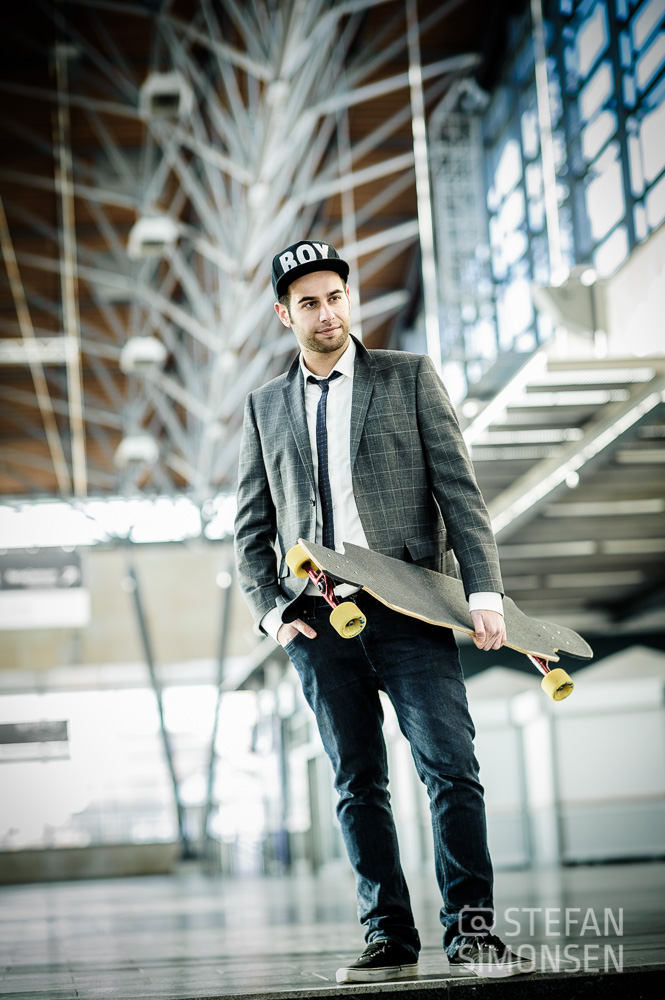 Lifestyle-Portraits in Hannover mit Skateboard