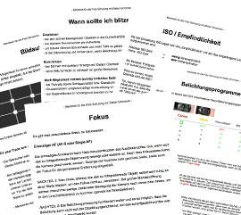 PDF mit Grundlagen der Fotografie