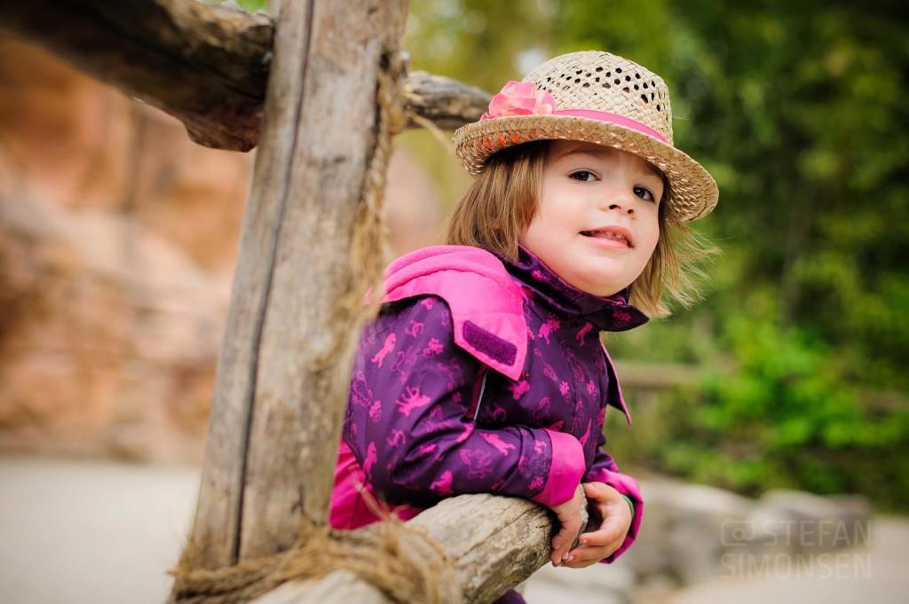 Kinderportrait eines kleinen Mädchens in Hannover