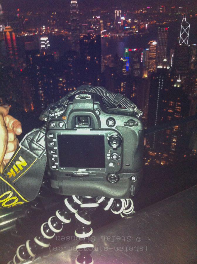 "Nikon D600 auf ""Gorillapod-Stativ SLR Zoom"""