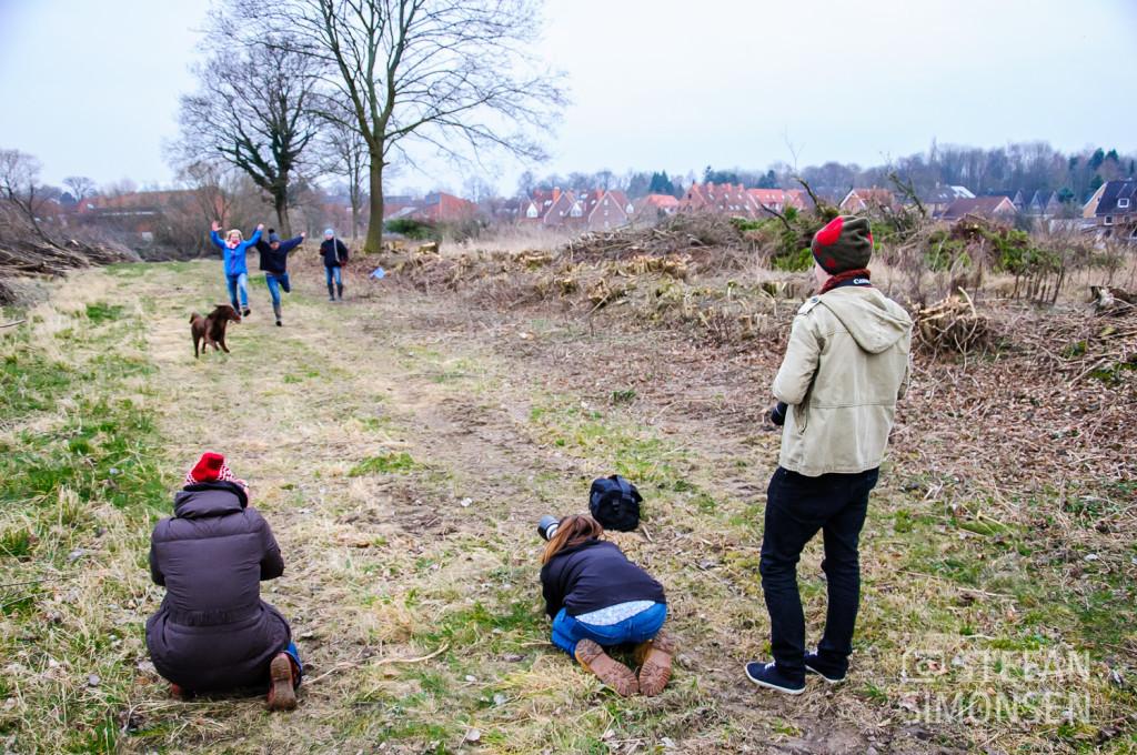 Teilnehmer des Hundefoto-Workshops
